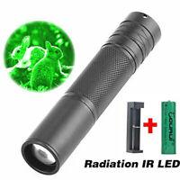 Infrared Illuminator Flashlight IR 850nm CR-23 Torch Zoom Rechargeable Light Lam