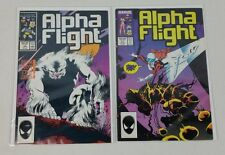 Lot of 2 Marvel Comics Alpha Flight #45, 47