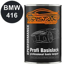 Autolack Dose Spritzfertig BMW 416 Carbonschwarz Metallic Basislack 1 0l