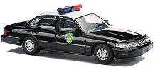 Busch # 49080 Police Crown Vic 4-Door Sedan WYOMING HIGHWAY PATROL HO MIB