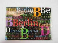 Berlín Germany Foto Imán XXL Schriften, Alemania Recuerdo, 9CM