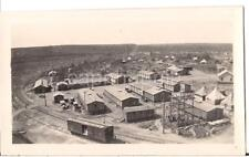 CB&Q Railroad Car Military Encampment? FT LEAVENWORTH 1920s Photo Beverly MO?