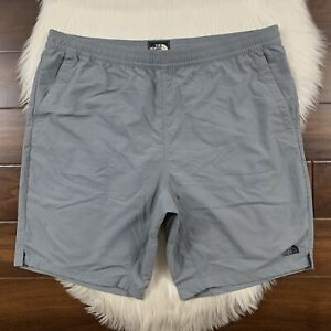 The North Face Men's Size XL Gray Pull-On Adventure Shorts Flash Dry