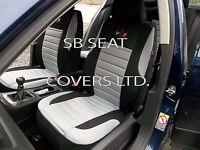 TO FIT A KIA NIRO CAR, SEAT COVERS, PADDED VX GREY, FULL SET