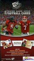 2009 Press Pass Football Factory Sealed Blaster Box! Look for Autograph !