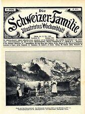 Idyll berneroberland virgen histórica grabación (título hoja) de 1908