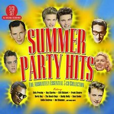 Various Artists SUMMER PARTY HITS: ABSOLUTELY ESSENTIAL COLLECTION Best NEW 3 CD