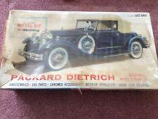 Vintage 4863 Hubley Packard Dietrich Victoria Convertible New In Original Box