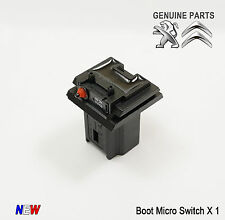 Peugeot 207 307 308 407 5008 Partner Micro Tailgate Boot Contact Switch 6554V5