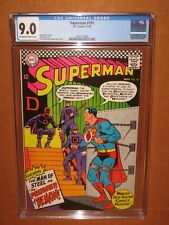 Superman #191 CGC 9.0! Just 27 higher in CGC Census! 12 pix! Ships FULLY Insured