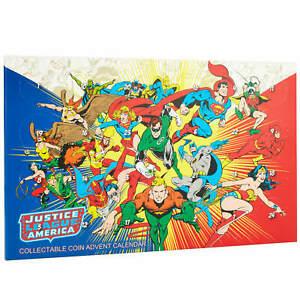 DC Comic's Justice League Of America Collectible Coin Advent Calendar