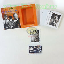 Collecting Playing card/Poker Deck 54 cards Famous World War II Men of the Hour