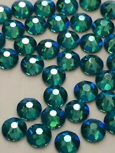 16ss BLUE ZIRCON SHIMMER Swarovski Rhinestones 144 pcs