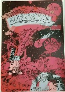 DREAMWORLD BY SICKBOY HAND FINISHED SIGNED PRINT 1/20 Psychedelic Cosmopop RARE