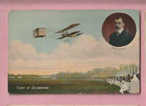 Aviation, French, Biplan Flight of Delagrange.