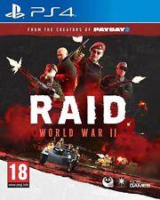 RAID World War II PlayStation 4 PS4 Game WWII - BRAND NEW & SEALED UK PAL