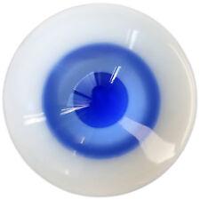 [wamami]18mm Blue & MediumBlue For BJD DOD AOD Doll Dollfie Glass Eyes Outfit
