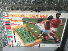 CALCETTO#SOCCER TABLE ARCOFALC 80S LO STADIO DEI MONDIALI#NIB VERY RARE