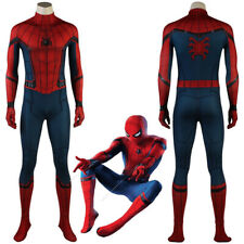 Captain America Civil War Spider-Man Homecoming Cosplay Costume 3D printed