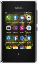 "Nokia Asha 503, 32GB, 5MP, Asha 1.2, 3"" Display, Sim-Free Smartphone - Black"