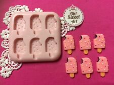 Cute Lollipops silicone mold fondant cake decorating cupcakes cake pops soap FDA