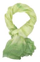 Ella Jonte Pañuelo Mujer Verde Batik Ibiza Etno Ligero Bufanda Primavera Verano