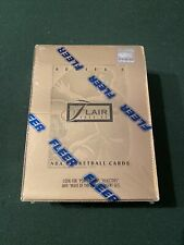 1994-95 FLEER FLAIR SERIES 2 BASKETBALL Factory Sealed Hobby Box JORDAN