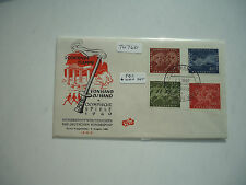 West Germany 1960 Olympic Games (Set 4 MNH + FDC)