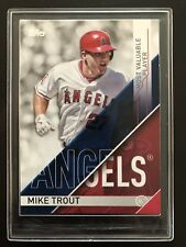 Mike Trout Topps Most Valuable Player Award #MVP-1 Los Angeles Angels FUTURE HOF