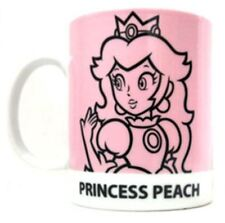 Nintendo Super Mario Mug Cup Princess Peach 2D Retro Art New Sealed