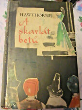 A SKARLAT BETU~Hawthorne 1966 Hungarian book