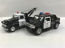 Stepside 55 & Hummer H2 Police Car 1:32 KT5330-5097.DP Set of 2
