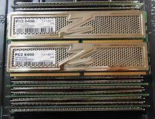 OCZ 8GB (4 X 2GB) DDR2 PC2-6400 800Mhz DESKTOP MEMORY   (8 kits avail)
