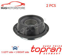 TOP STRUT MOUNTING CUSHION SET FRONT TOPRAN 103 490 2PCS P NEW OE REPLACEMENT