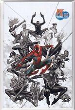 SPIDER-GEDDON 1 Jorge Molina VIRGIN Spider-Man NYCC PX Previews VARIANT NM /3000