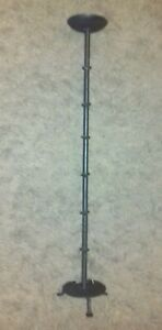 WROUGHT IRON CANDLE STAND/HOLDER     (CB)