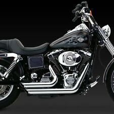 1991-2005 HARLEY DYNA Shortshots Chrome Exhaust (VANCE AND HINES 17213)
