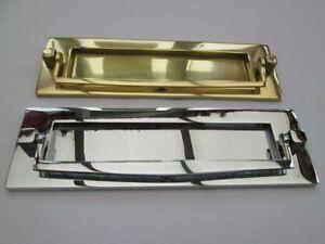 "10""/250mm VICTORIAN STYLE POSTAL DOOR KNOCKER LETTER BOX PLATE LETTER PLATE"