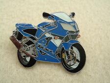 GENUINE KAWASAKI ZX9R ZX 9R ZX 9 R ZX-9R ZX9 PIN BADGE BLUE