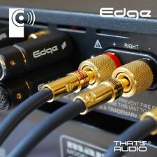 2 Pack Hi-Fi Banana PlugS (4mm Gold Plated Plug for Speaker Amplifier cable) BP1