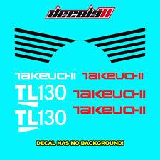 Takeuchi TL 130 Decal Set Sticker Skid Steer TL130