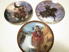 3- Hermon Adams Collector Plates