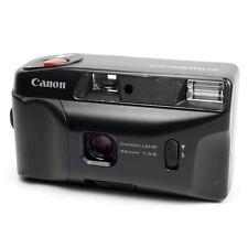 Canon Scattanti EZ vintage anni'80 Point & Shoot 35mm AUTO RETRÒ COMPATTA FOTOCAMERA A PELLICOLA