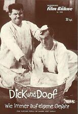 IFB 7655   DICK UND DOOF - WIE IMMER AUF EIGENE GEFAHR   Laurel & Hardy   Top