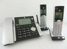 New AT&T  CL8421 Corded Cordless Phone w/ 2 Handsets & Digital Answering Machine