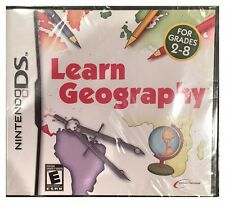 Learn Geography DS Brand New