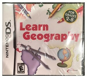 Learn Geography DS Brand New Explore Our Planet Continents Cultures Ages 2 to 8