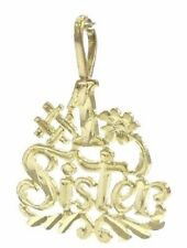 #1 Sister Charm in 14kt Yellow Gold