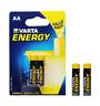 Pile Alcaline Varta ~ 1,5V ~ LR6 ~ AA ~ Energy (2 pièces)