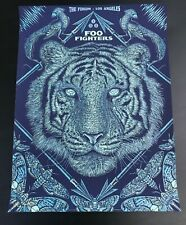 Foo Fighters Poster Los Angeles 2015 Slater Ae Mint